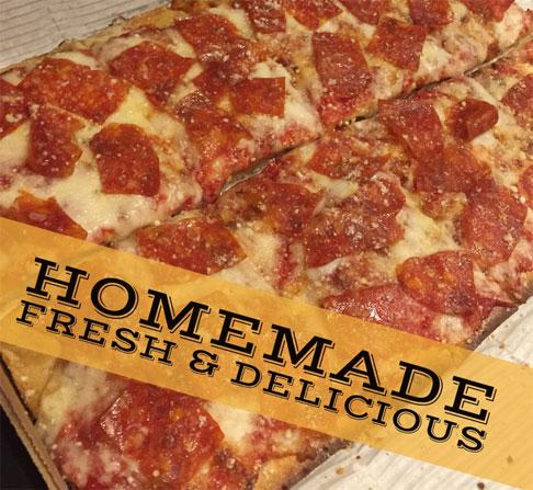 Squarz Home Pizza